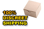 100% Discreet - Keep your private shipping